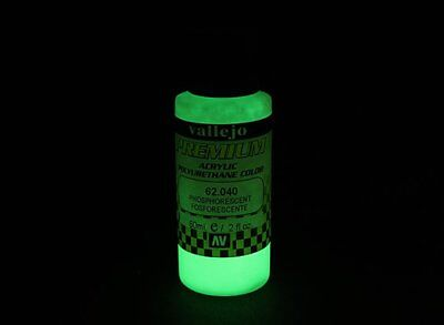 RC Vallejo Premium Color Acrylic Paint - Phosphorescent (60ml)