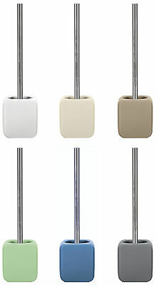 "Kleine Wolke ""Cubic"" Ceramic Toilet Brush and Holder Various Colours"