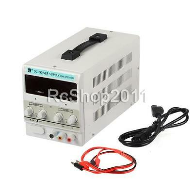 MS305D Digital DC Power Supply 30V 5A Precision Variable Adjustable Lab Grade UK