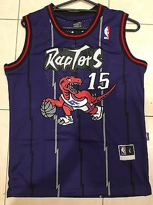 Toronto Raptors NBA Jersey #15 Vince Carter Kids & Adult AU STOCK