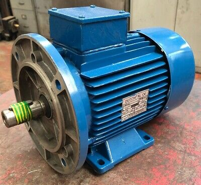 4 Pole ALUMINIUM B3 Three Phase Electric Motor 0.06KW 0.0643TECAB3-56M