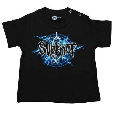 Slipknot Electric Blue Baby T Shirt Officl Boys Girls Tshirt Metal Kids T-shirt
