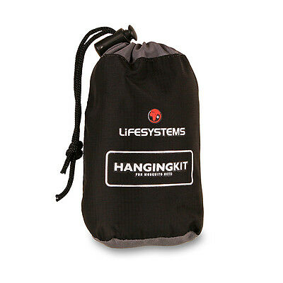 Lifesystems Mosquito Net hanging kit camping/travel
