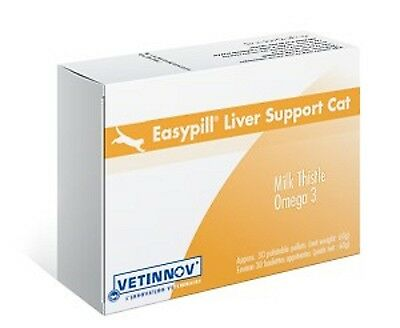 Easypill Cat, Liver, 30 Palatable Pellets, Premium Service, Fast Dispatch