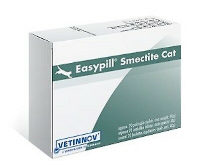 Easypill Cat, Smectite, 20 Palatable Pellets, Premium Service, Fast Dispatch