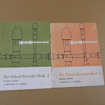 recorder SCHOOL RECORDER BOOK 1 + 2, rev. edition, Priestley + Fowler