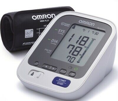 Omron M6 Comfort Automatic Arm Blood Pressure Monitor with Morning Hypertension
