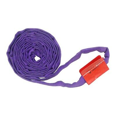 4Ft Endless Purple Round Sling 3000LB Vertical