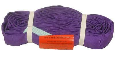 10Ft Endless Purple Round Sling 3000LB Vertical