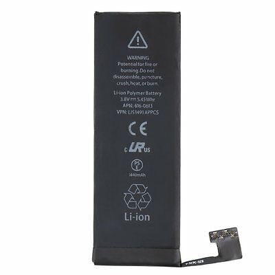 1440mAh LI-ION BATTERY Replacement With FLEX CABLE For iPhone 5 Quality LO