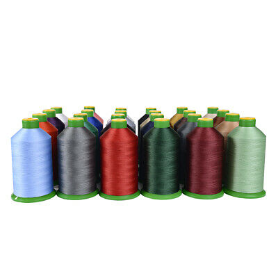 40S Bonded Nylon Heavy Duty Sewing Thread * Upholstery * Leather * 26 Colours