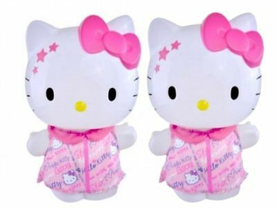 2 X Pack Hello Kitty Scribble 3D Bathfoam Figurine Fresh And Clean Everyday