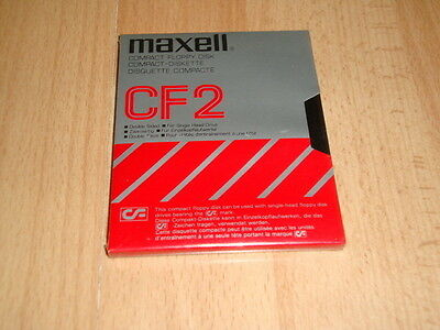 Amstrad Compact Floppy Disk Cf2 By Maxell Made In Japan New Factory Sealed