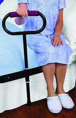 Cushioned Bedside Support Grab Rail Great Support For Getting In And Out Of Bed
