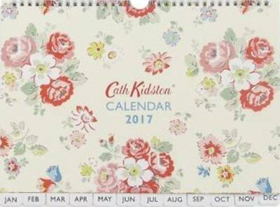 Cath Kidston Wall Calendar 2017 Forest Bunch (NEW & Sealed)