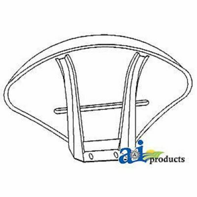 A-180707M92 Massey Ferguson Parts FENDER W/ BRACKET RH/LH TE20, TO20, TO30, 135,