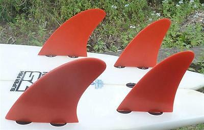 New FCS Compatible Fibreglass Surf Fins from Indo Fins!! H-3 Nexus Small Style