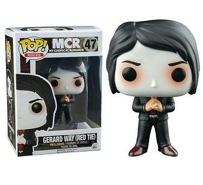 My Chemical Romance Gerard Way with Red Tie Exclusive Pop! Vinyl Figure FUNKO 47