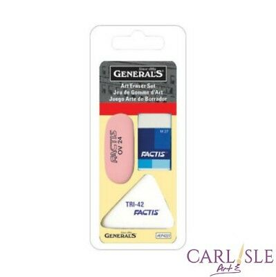 Generals Factis Art Eraser Set