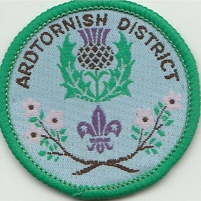 Ardtornish District Scout Badge