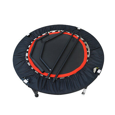 Trampoline Folding Exercise System Home Fitness Gym Cardio Folding Fit New