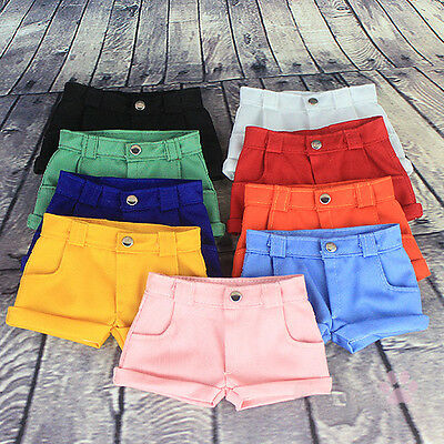 New Hot 9 Candy Color Unisex Casual Shorts/Pants  For 1/3 SD DD BJD Doll Clothes