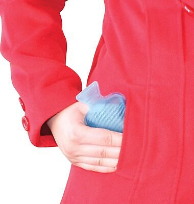 POCKET HOTTY - Blue - Water Bottles Style Pocket Reusable Hand Warmer **NEW**