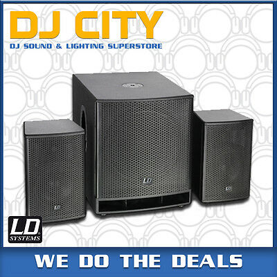 Dave15-G3 Active 1400W PA Speaker and Subwoofer System