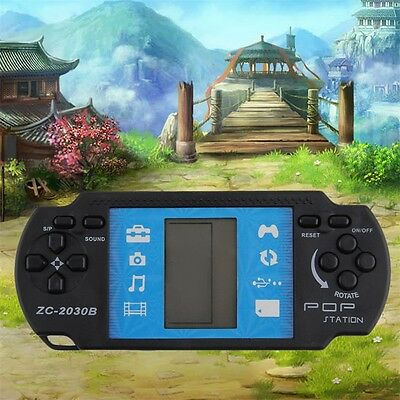 Kids Children Handheld Game Console Portable Video Tetris For PSP Gaming AU