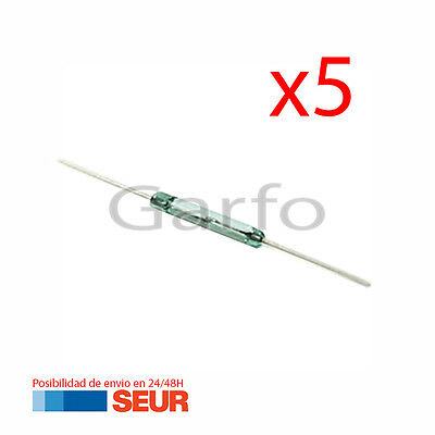 5X Interruptor Reed Switch 14X2MM 0,5A