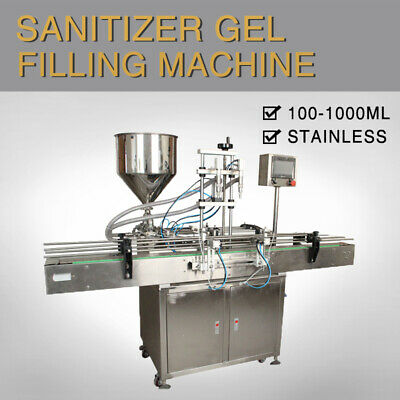 Double Head Automatic Paste Filling Machine 1000ml By Sea