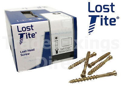 Lost-Tite Tongue & Groove Wood Cladding Flooring Screws Tongue-Tite