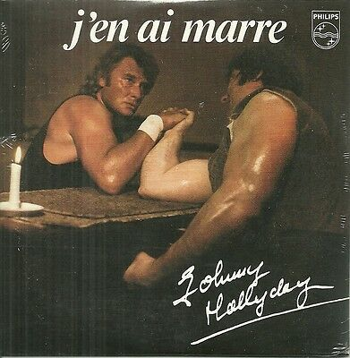 Cd 2 Titres - Johnny Hallyday : J' En Ai Marre ( Neuf Emballe )