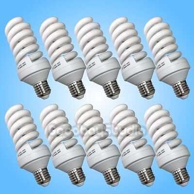 10PCS Studio 25W Output 5500K Photo Light Bulb  (= 45W Incandescent Lamp) 220V