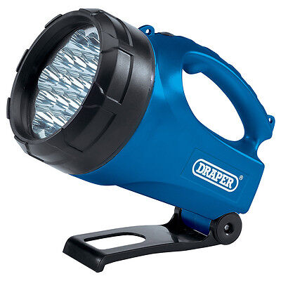 Draper Rechargeable 19 Led Torch/lantern Work Light Hand Lamp (31940)