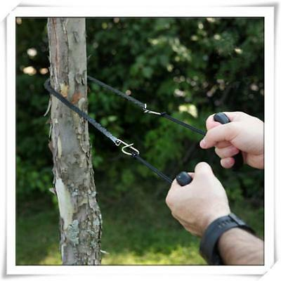 Multifunction Hand Chain Saw Outdoor Camping Hiking Survival Emergency Tool JJ
