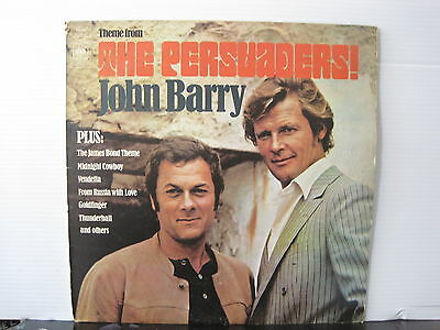 """JOHN BARRY Theme from """"The Persuaders"""" UK CBS RECORDS VINYL LP Free UK Post"""