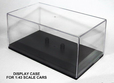 3 x DISPLAY CASE for CARARAMA Diecast Car Models Scale 1:43