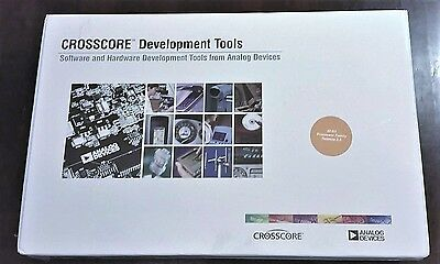 Crosscore Software & Hardware Development Tools VDSP-SHARC-PC-FULL Analog Device