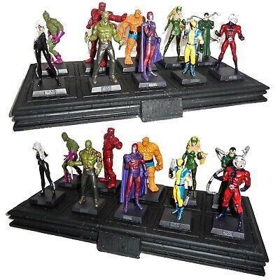 EAGLEMOSS Figura MARVEL COLLECTION Metallo Lead Figure MINT IN BOX Lotto Lot 1