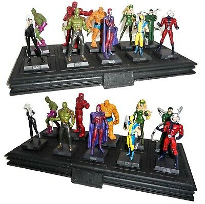 EAGLEMOSS Figura MARVEL COLLECTION Metallo Lead Figure MINT IN BOX Lotto Lot 2
