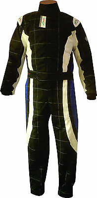 Cordura 2-layer CIK-FIA Level 2 Approved Karting / Racing Adult Suit, 3 Colors