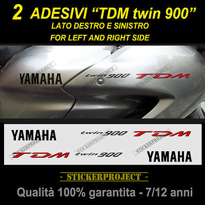 KIT 2 ADESIVI TDM twin 900 YAMAHA stickers moto