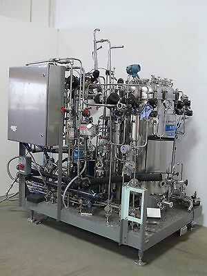 LSL Biolafitte SA 110L Stainless  Bioreactor Fermenter Skid  for Cell Culture