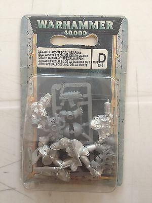 Warhammer - Death Guard Special Weapons - 40K - Nuovo