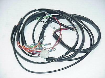 hand controlls harley wiring harness diagram new 1973-1977 harley flh complete wiring harness - $129.99 ... #9