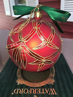Waterford Holiday Heirlooms Ashbourne Regal Ball-Opulence Collection