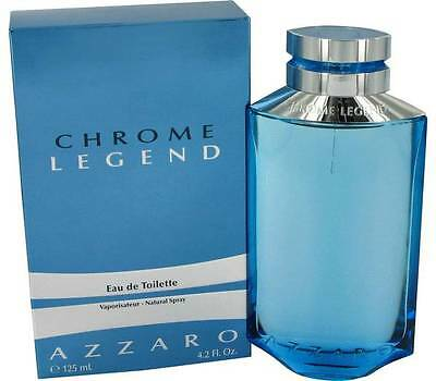 AZZARO CHROME LEGEND  125ml EDT  Spray  For Men BY AZZARO