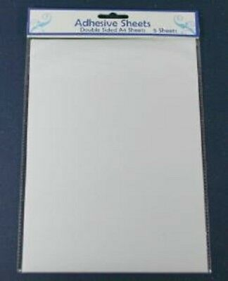 Creative Expressions Double Sided A4 Self Adhesive Film (Packet of 5) ADHA4