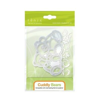Tonic Studios Cuddly Bears Rococo Cutting Die 1273E